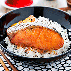 Japanese-style Salt and Chilli Salmon
