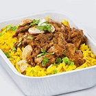 Chicken Biryani with rice