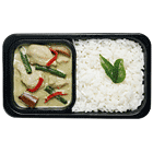 Thai Green Curry with Rice