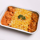 Briyani Rice with Vegetarian Chicken