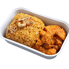 Biryani Rice with Vegetable Curry