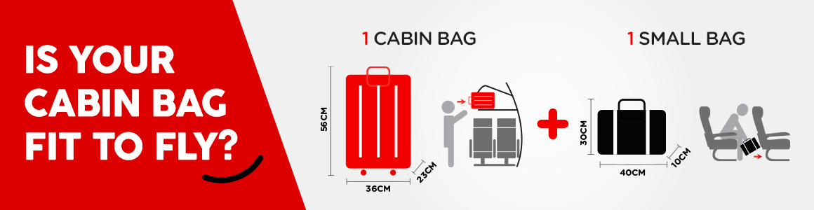 Is your cabin baggage fit to fly?