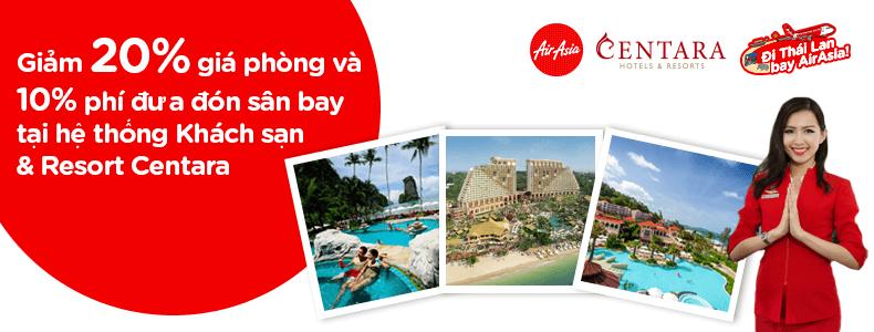 Vé siêu rẻ 7 USD, giảm thêm 20% khách sạn và spa bên Thái