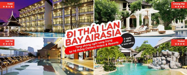 [DEAL] Cơ hội nhận phòng nghỉ 2 đêm tại Centara Hotel & Resorts