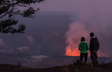 Witness primal energy at the Hawaii Volcanoes National Park