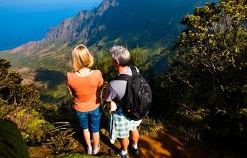 See the dramatic cliffs of the Napali Coast on Kauai