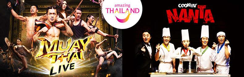 show Nanta và Muay Thái