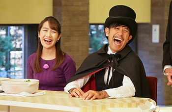 Detective Team 9 for Local Gourmet in Central Japan
