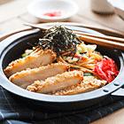 Yaki Spaghetti and Chicken Katsu
