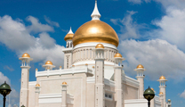 Book cheapest flights to Brunei and visit mosque in Brunei