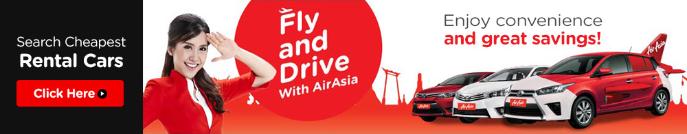 Fly and Drive with AirAsia