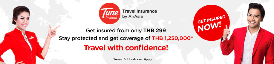 Tune Protect Travel Insurance by AirAsia