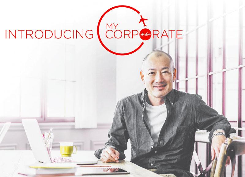 แอร์เอเชียเปิดตัวบริการใหม่ MyCorporate