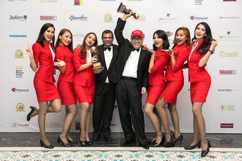 แอร์เอเชียคว้า 2 รางวัลจาก World Travel Awards Grand Final ปี 2560