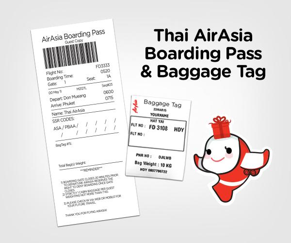 Thai Airasia Boarding Pass Privileges Johor Bahru Airasia