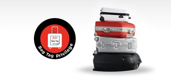 Thai Airasia Boarding Pass And Baggage Tag Privileges Airasia