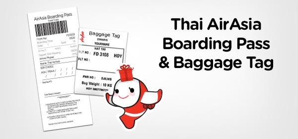 Thai Airasia Boarding Pass Privileges Singapore Airasia